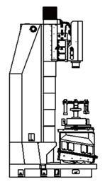 Вертикальный шлифовальный станок JHV-1008CNC 3