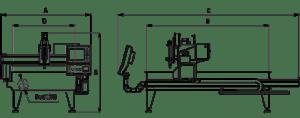 Станок газо-плазменной резки Magicut настольного типа 1